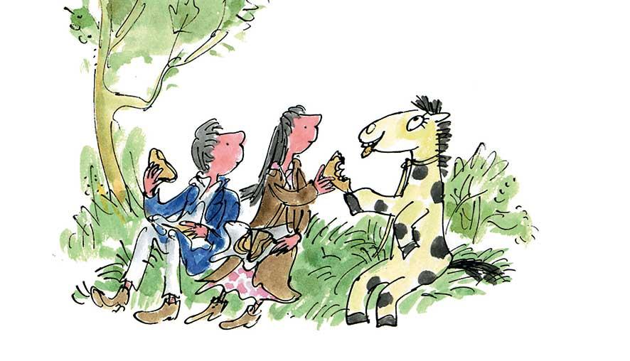 Blake-Yeoman, Il cavallino ammaestrato, libro illustrato per bambini, Le rane Interlinea