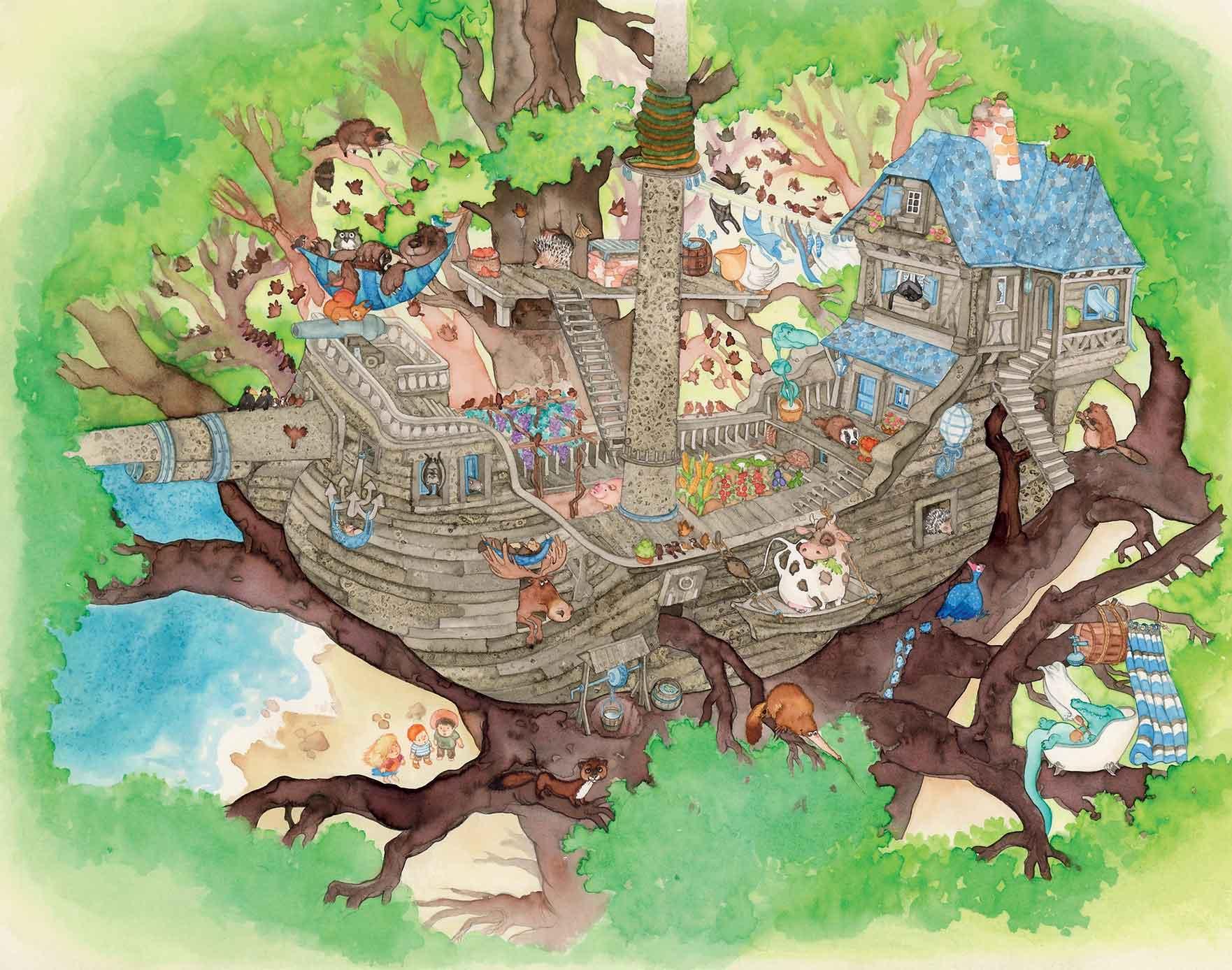Curreli, Camilla Camomilla, libro illustrato per bambini, Interlinea edizioni
