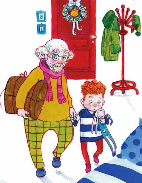 Ghigliano, La foto di Natale, libro illustrato per bambini, Le rane Interlinea