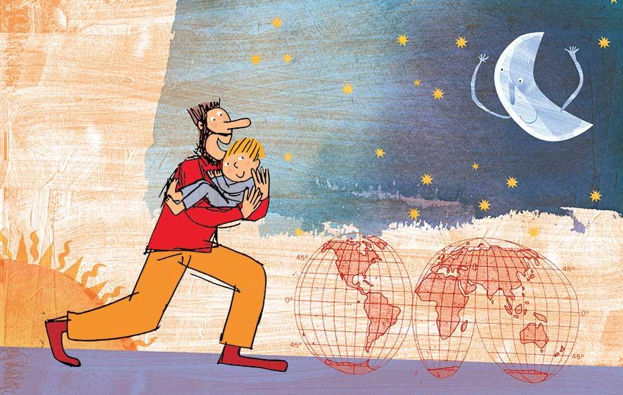 Lavatelli, Bimbambel, libro illustrato per bambini, Le rane Interlinea