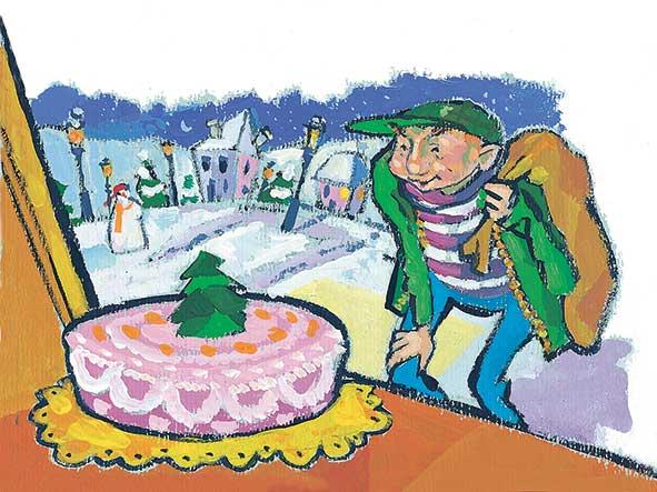 Milani, La torta, libro illustrato per bambini, Le rane Interlinea