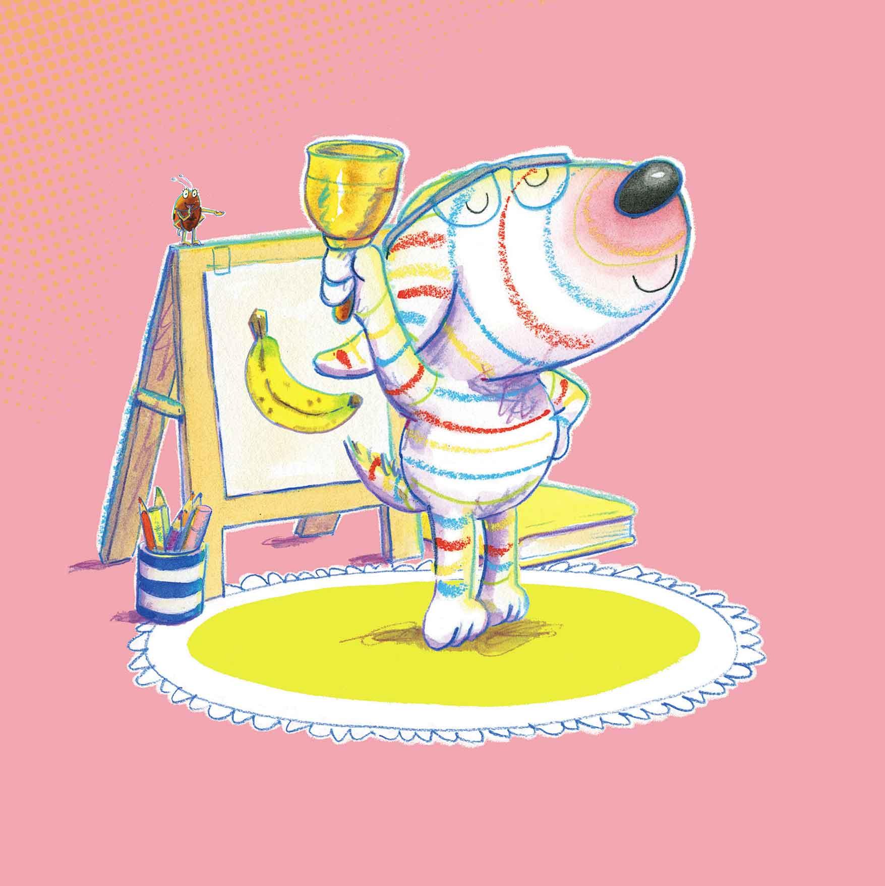 Parker-Rees, Dylan fa il maestro, libro illustrato per bambini, Interlinea edizioni