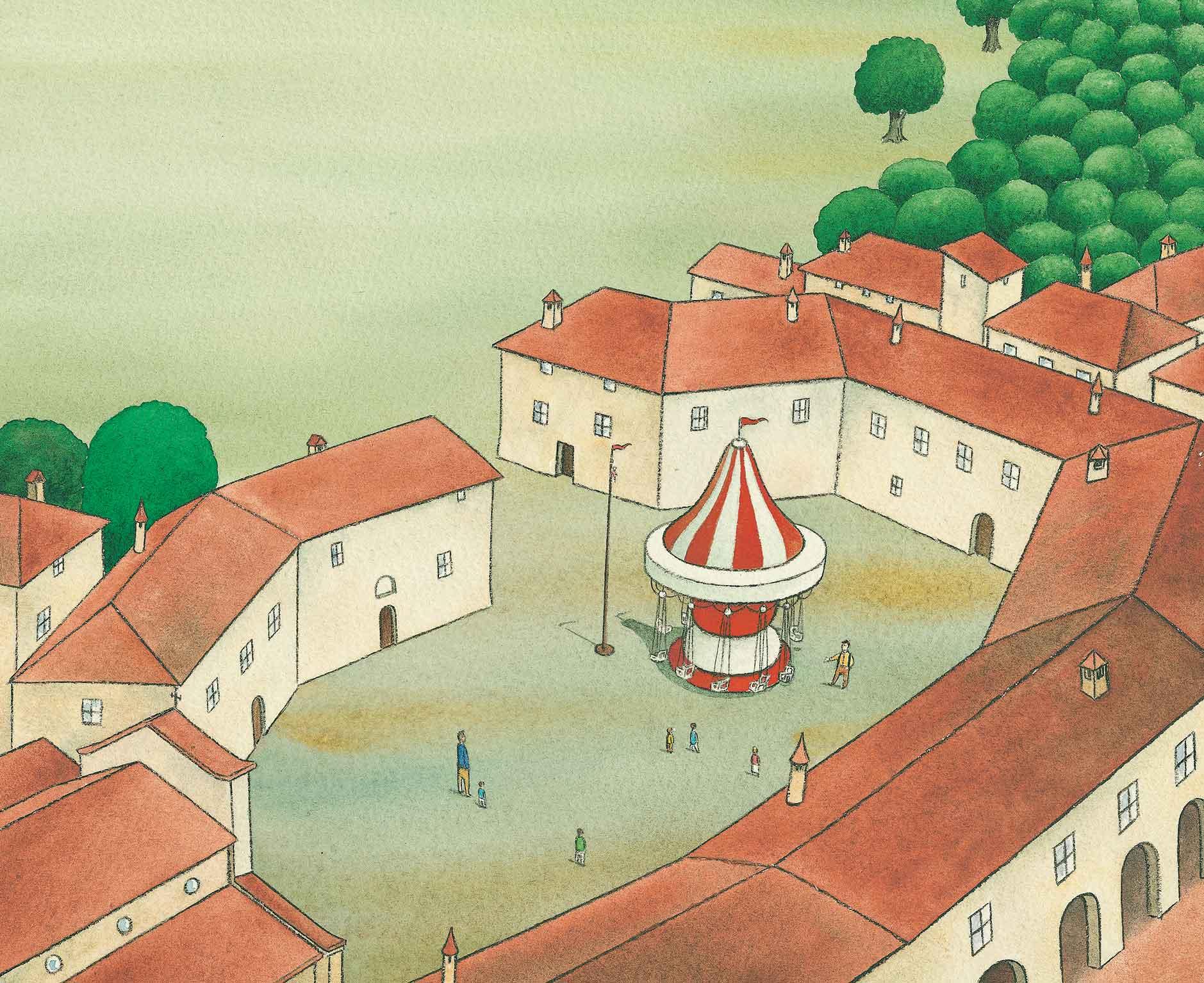 Piumini, Ciro e le nuvole, libro illustrato per bambini, Le rane Interlinea