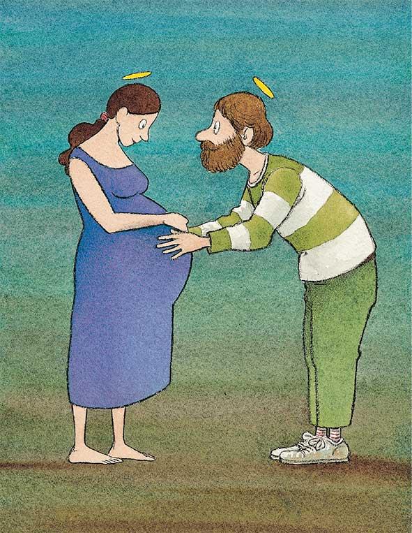 Piumini, Il viaggio di Peppino, illustrazioni di Cecco Mariniello, libro illustrato per bambini Le rane