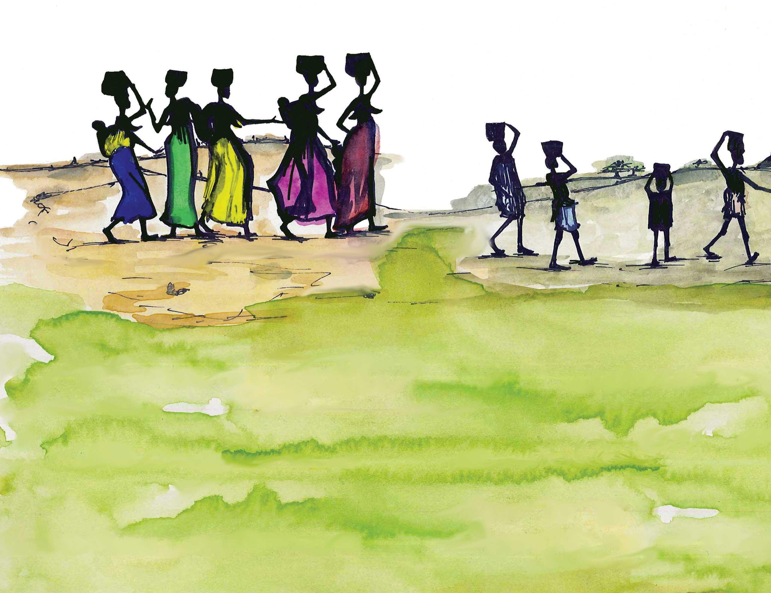 Piumini, L'acqua di Bumba, libro illustrato per ragazzi, Interlinea edizioni