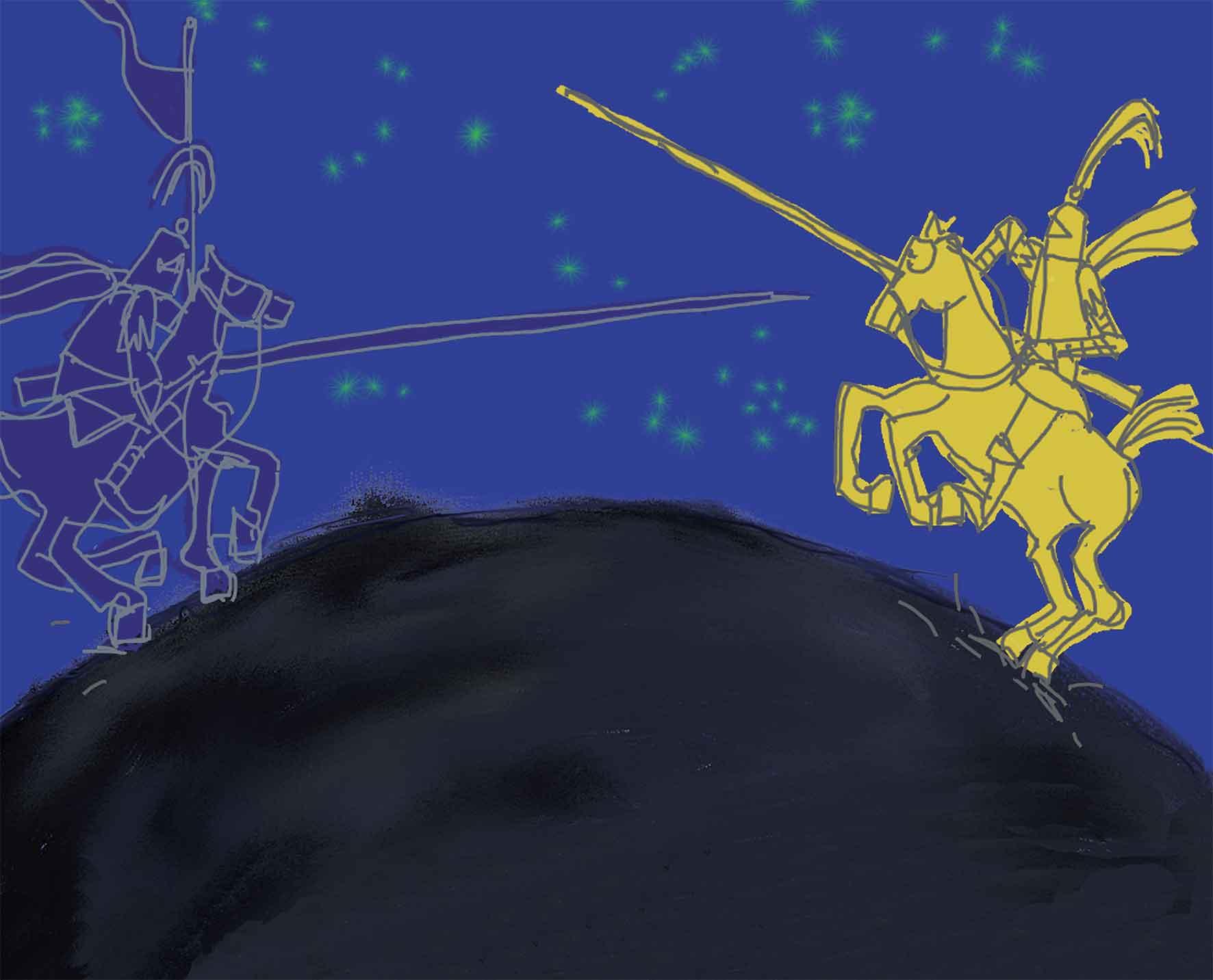Piumini, La battaglia dei colori, libro illustrato per bambini, Interlinea edizioni
