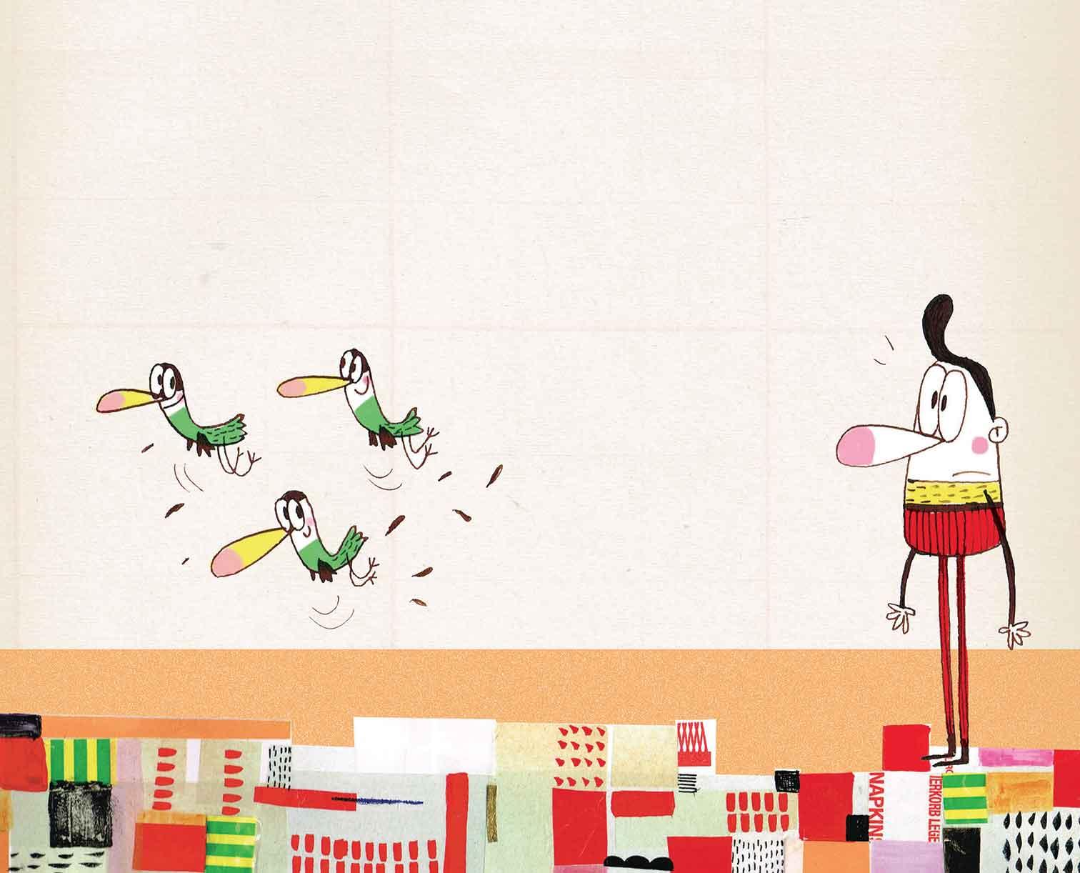 Guido Quarzo, Una strana collezione, libro illustrato per bambini, Interlinea edizioni