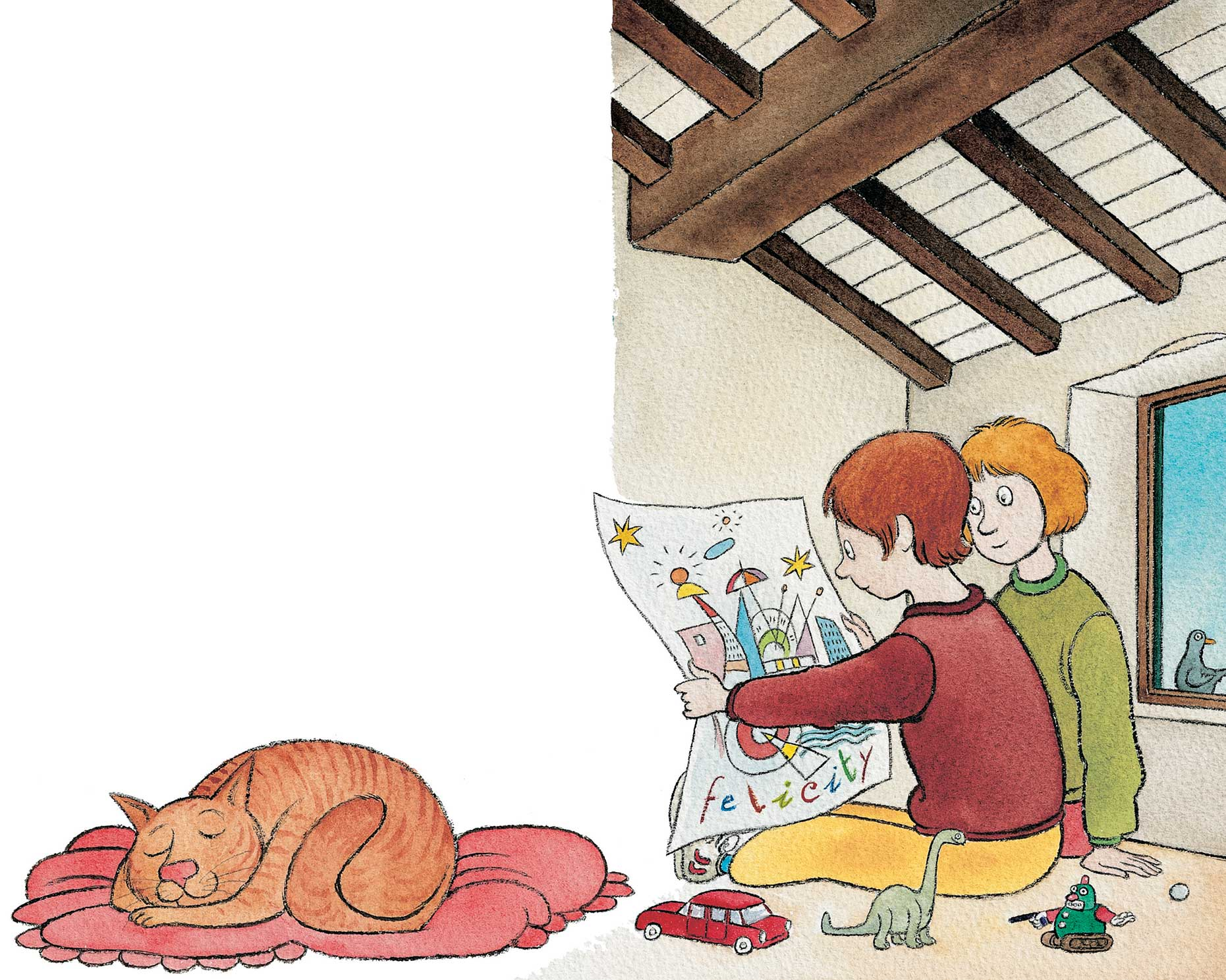 Roberto Piumini, I Cici, libro per bambini illustrato da Cecco Mariniello, Interlinea edizioni