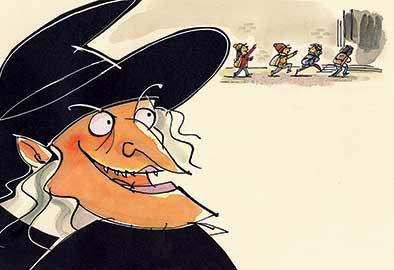 Ruiz Mignone, La strega di Natale, libro illustrato per bambini, Le rane Interlinea