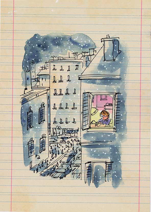 Vivarelli, Caro Babbo Natale, libro illustrato per bambini, Le rane Interlinea