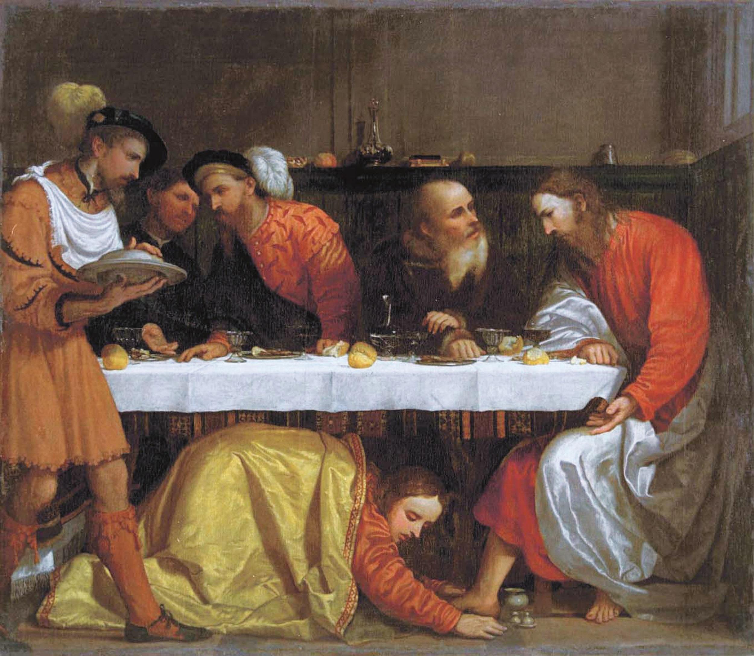 cena-in-casa-del-fariseo-Romanino_Croce-damore_Grisoni