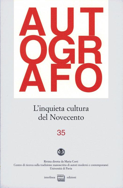 L'inquieta cultura del Novecento