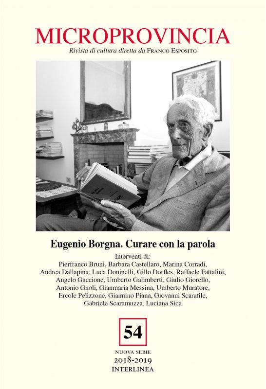 Eugenio Borgna. Curare con la parola
