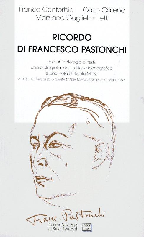 Ricordo di Francesco Pastonchi